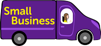 Business van purple